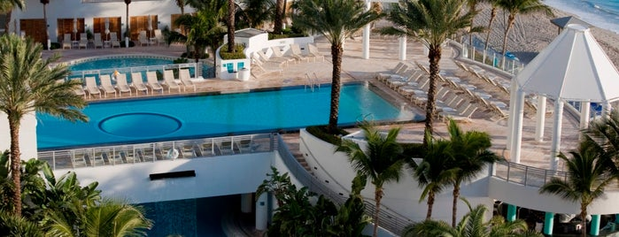 Diplomat Beach Resort Hollywood, Curio Collection by Hilton is one of My favorite hotels.