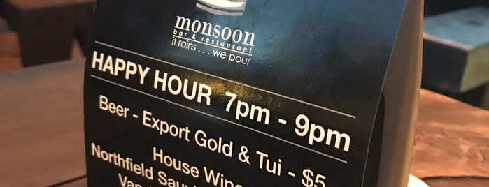 Monsoon Bar is one of New Zealand.