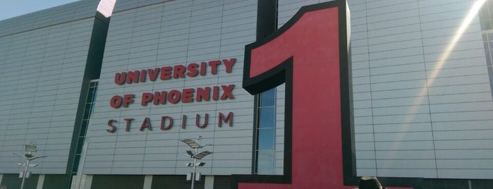 University of Phoenix Stadium is one of Events To Visit....