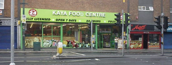 Kaya Food Centre is one of Global Nottingham.