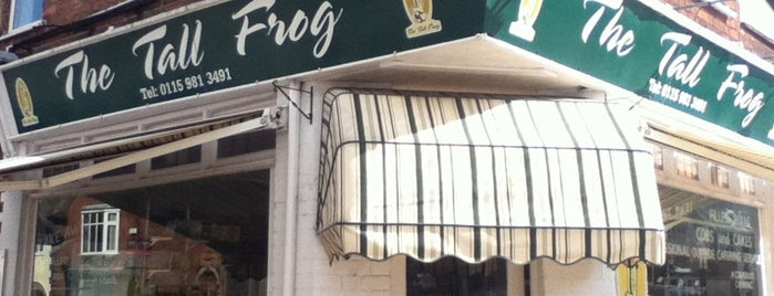 The Tall Frog is one of Global Nottingham.