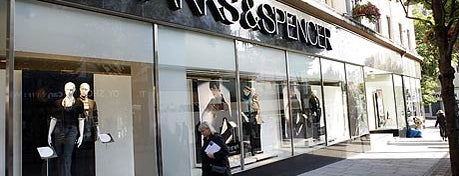 Marks & Spencer is one of Hey big spender!.