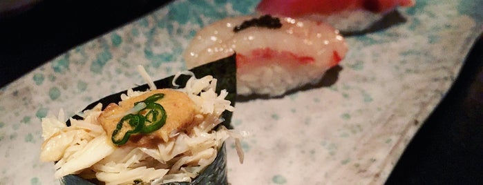 Sushi Nakazawa is one of West-Greenwich village.