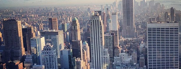 Top of the Rock Observation Deck is one of Architecture - Great architectural experiences NYC.