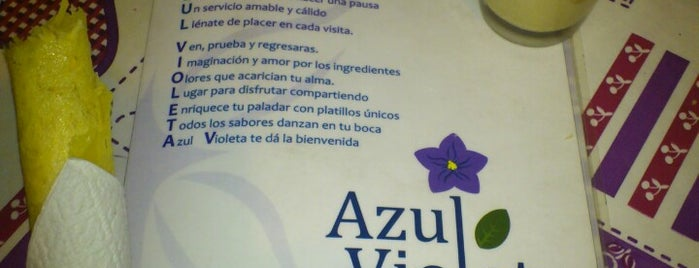 Azul Violeta is one of Coyoacán.