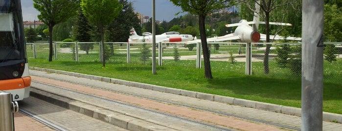 Hava Müzesi Tramvay Durağı is one of Eskişehir SSK - Otogar Tramvay Hattı.