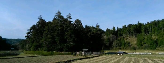 光仁天皇 田原東陵 (田原塚ノ本古墳) is one of 天皇陵.