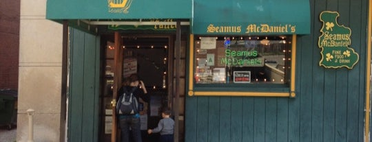 Seamus McDaniel's is one of Pubs/Bars.
