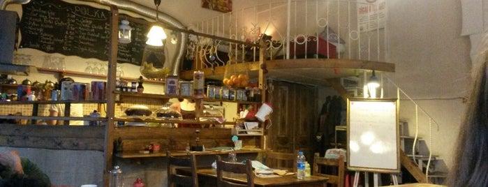 POLKA'fe is one of istanbulda arka sokak lezzetleri.