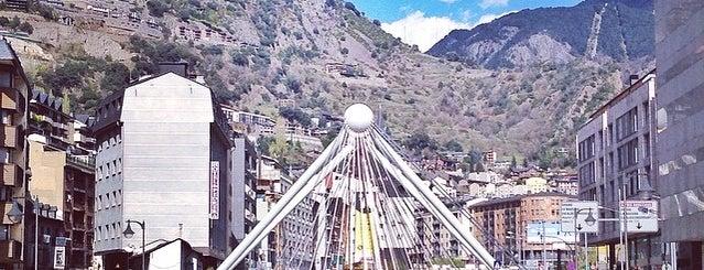 Andorra la Vella is one of World Capitals.