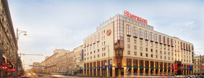 Sheraton Palace is one of Moscow specials.