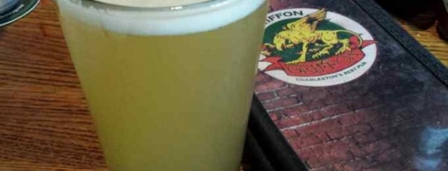 The Griffon Pub is one of Charleston Beer.