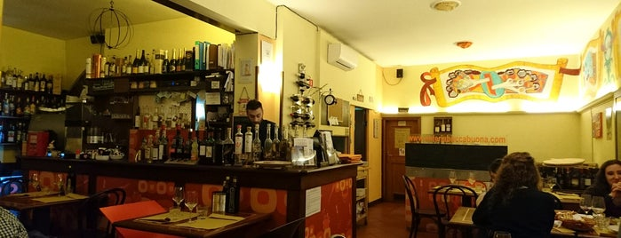 Osteria Boccabuona is one of Friendly food.