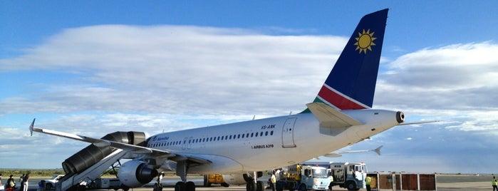 Windhoek Hosea Kutako International Airport (WDH) is one of My Airports.