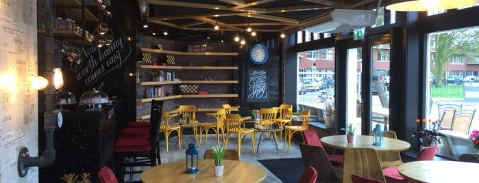 Café Demliq is one of I ♥ Noord.