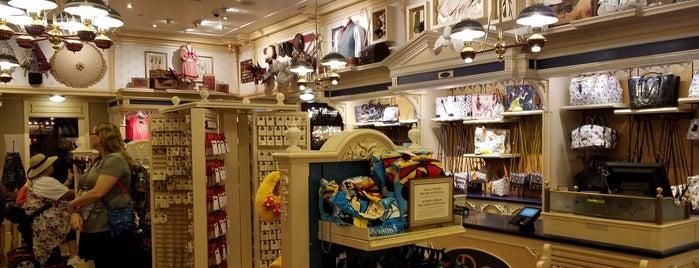 Disney Clothiers, Ltd. is one of Disneyland Shops.