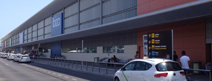 Ibiza Airport (IBZ) is one of bmibaby check in desks.