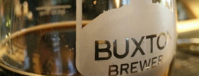Buxton Brewery Tap House is one of Beer / RateBeer's Top 100 Brewers [2015].