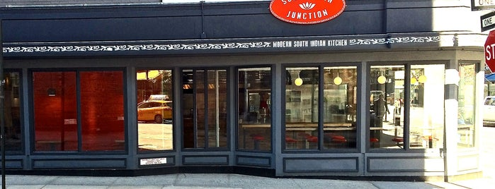 Soho Tiffin Junction – Burgers & Bowls is one of The New Yorkers: Ladies Who Lunch.