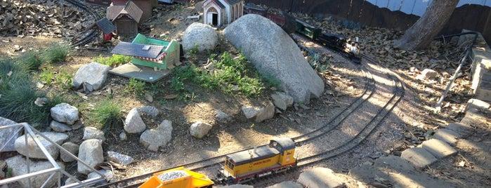 LA Live Steamers Ghost Train is one of Nikki Kreuzer's Offbeat L.A..
