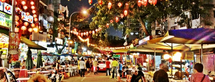 Jalan Alor is one of Social around the world.