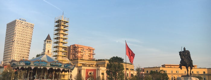 Tirana is one of cities.