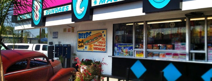 Beeps 50's Diner is one of Oldest Los Angeles Restaurants Part 1.