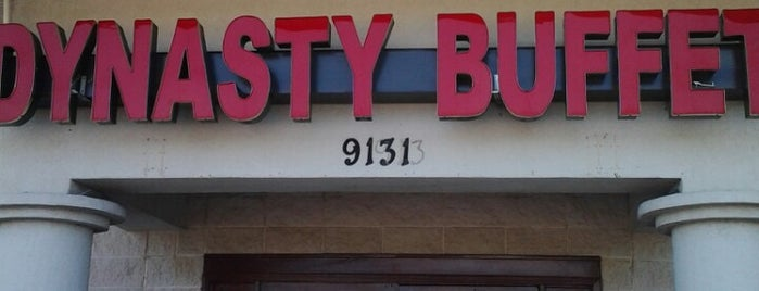 Dynasty Buffet is one of Eateries Bon Apetit!.