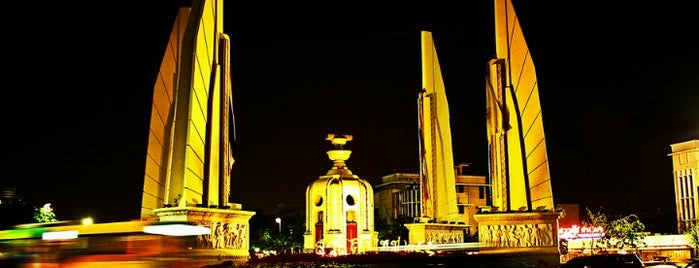 Democracy Monument is one of iPhone Walking Tours of Bangkok, Thailand.