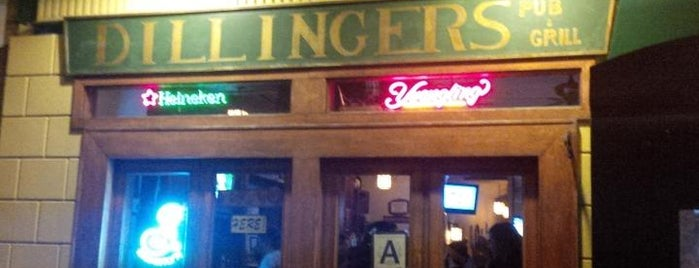 Dillingers Pub & Grill is one of USA NYC QNS Astoria.