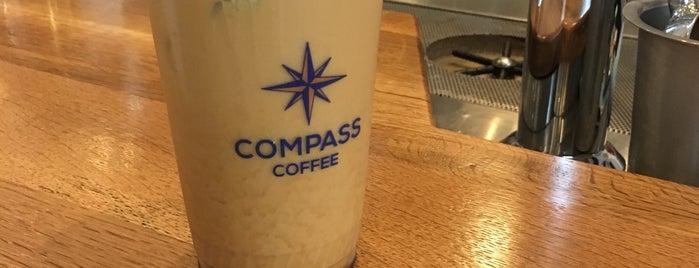 Compass Coffee is one of Life Around D.C. Metro.
