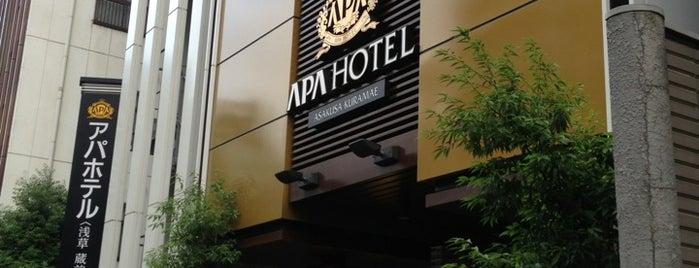 APA Hotel Asakusa Kuramae is one of Oshiage - Asakusa.