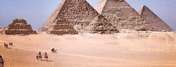 Great Pyramids of Giza is one of Bucket List ☺.