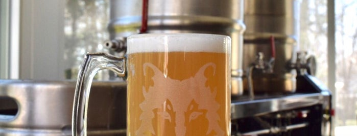 Wolf Brewing Co. is one of Staycation.