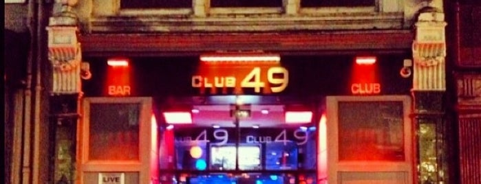 Club 49 is one of Places To Go.