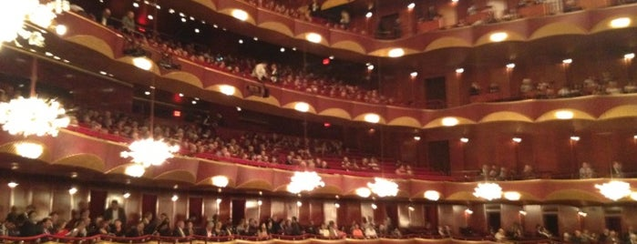 Metropolitan Opera is one of NYC insider's tips.