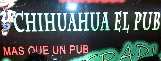 Chihuahua Pub is one of Pubs, Bares y Restaurantes.