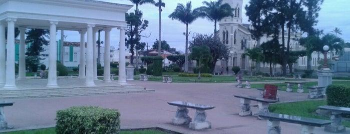 Praça do Bosque is one of Caminho da Paz - Trilha.