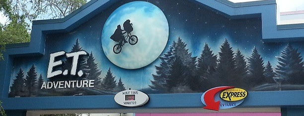 E.T. Adventure is one of Universal Studios.