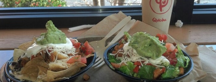 Qdoba Mexican Grill is one of Vegetarian SGF.