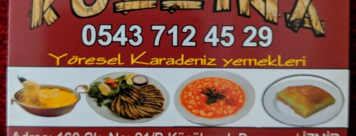 Kuzzina Karadeniz Yemekleri is one of İzmir.