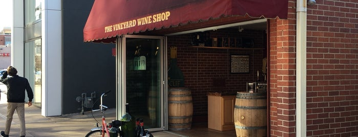 The Vineyard Wine Shop is one of Places to find Colorado Wine.