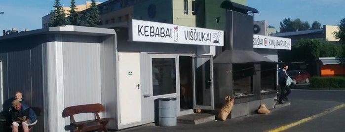 Liuks Kebabai is one of eat.