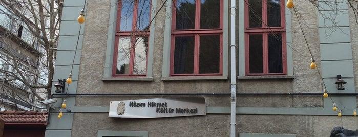 Nazım Hikmet Kültür Merkezi is one of Art Galeries & Exhbitions in Istanbul.
