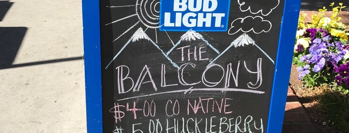 The Balcony Bar & Grill is one of Best of durango.