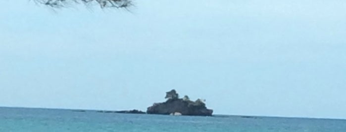 Pulau Ular is one of A.