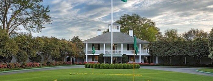 Augusta National Golf Course is one of Places I Visit : Atlanta.