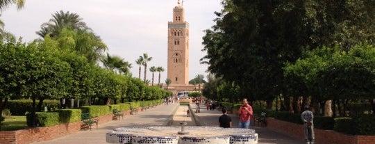 Jardin de la Koutoubia is one of Marrakech.