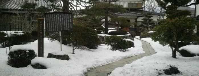 芦田宿本陣跡 is one of 201405_中山道.