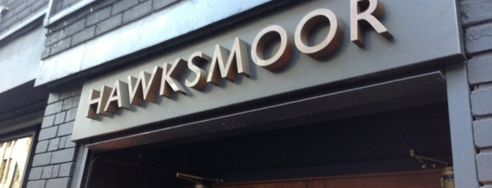 Hawksmoor Spitalfields is one of STA Travel London Foodie Favorites.